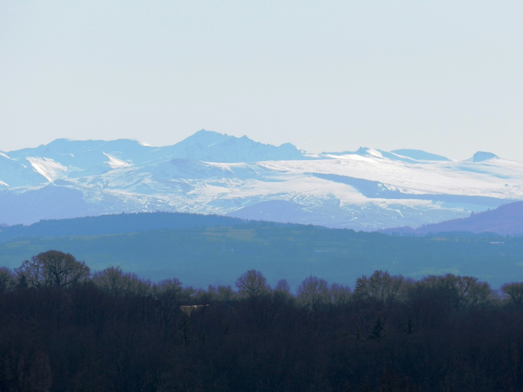 Massif du Sancy: vue Massif du Sancy